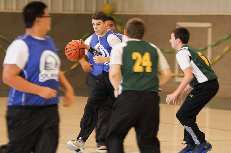 Soldier Basketball.