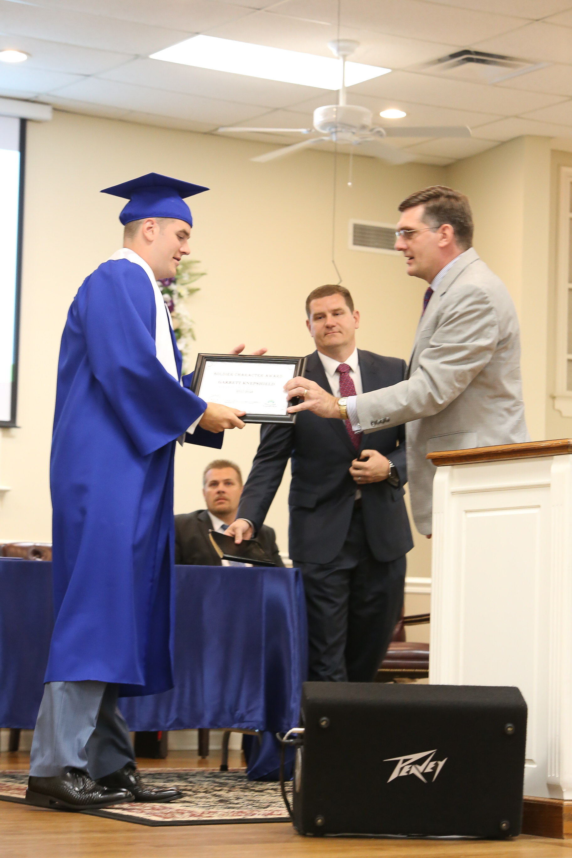 Our students graduate, ready to follow God's will for their lives.