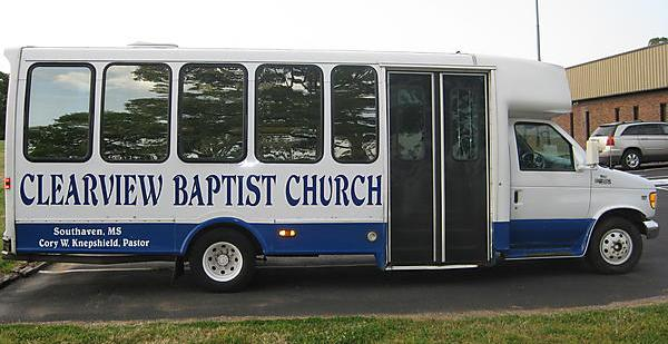 Pray for our Bus Ministry